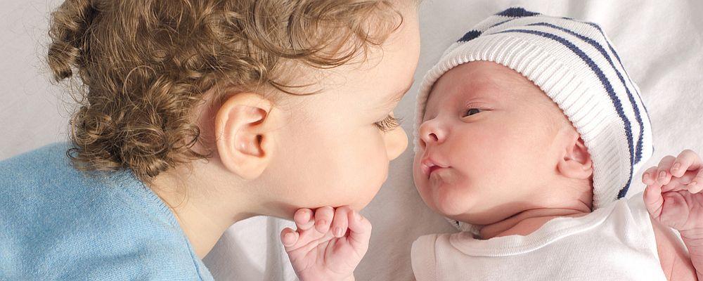 Foto net na bevalling door verloskundige